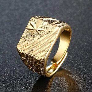 טבעת גולדפילד קלאסי לגבר