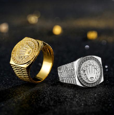 טבעת טיטניום מהממת דגם 0156 לגבר