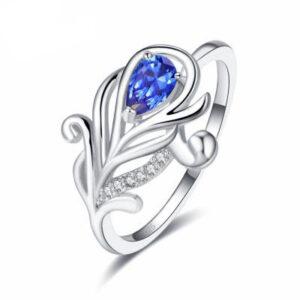 טבעת כסף 925 לנישואין דגם 4109