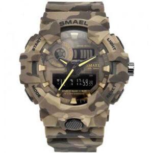 שעון צבאי עמיד למים דגם 2134 לגבר