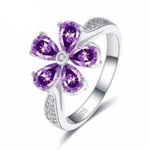טבעת כסף 925 לנישואין דגם 2124 לאישה