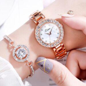 שעון יד איכותי לאישה דגם 5196