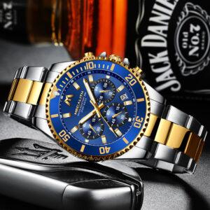 שעון יד יוקרתי לגבר דגם 2148