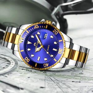 שעון יד יוקרתי לגבר דגם 2143