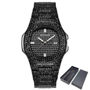 שעון משובץ יהלומי קריסטל דגם 2149