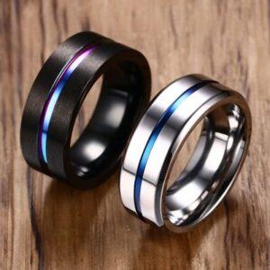 טבעת סטיינלס סטיל דגם 0221 לגבר