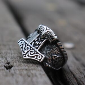 טבעת וייקינג סטיינלס סטיל דגם 0289