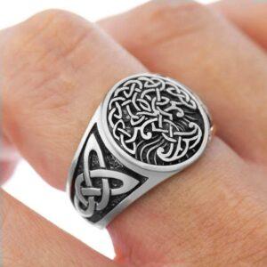 טבעת לגבר ויקינג דגם 0303