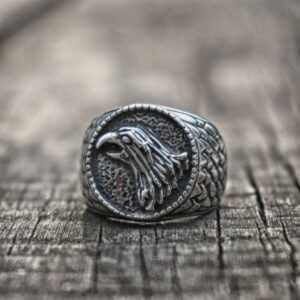 טבעת וייקינג סטיינלס סטיל דגם 0282 לגבר
