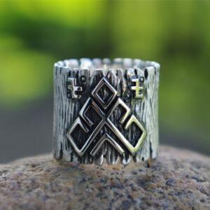 טבעת לגבר ויקינג דגם 0300