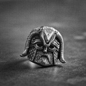 טבעת גוגולת סטיינלס סטיל דגם 0313
