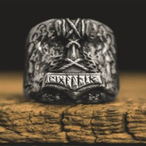 טבעת וייקינג סטיינלס סטיל דגם 0290