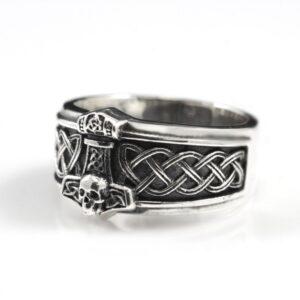 טבעת וייקינג סטיינלס סטיל דגם 0297