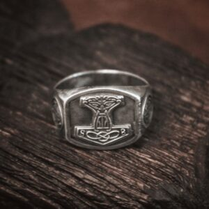 טבעת וייקינג סטיינלס סטיל דגם 0295