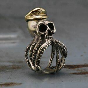 טבעת גוגולת סטיינלס סטיל דגם 0321