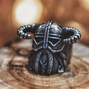 טבעת וייקינג סטיינלס סטיל דגם 0298
