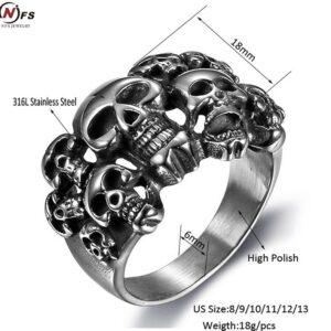 טבעת סטיינלס סטיל דגם 0276