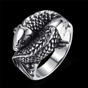 טבעת סטיינלס סטיל דגם 0271