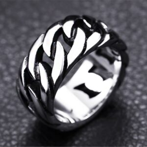 טבעת סטיינלס סטיל דגם 0281 לגבר לגבר