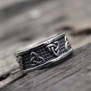 טבעת לגבר ויקינג דגם 0304