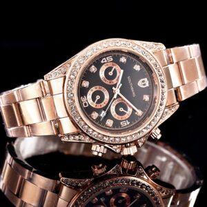 שעון יד יוקרתי לגבר דגם 2166