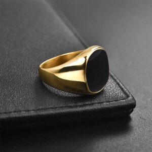 טבעת מעוצבת לגבר דגם 536