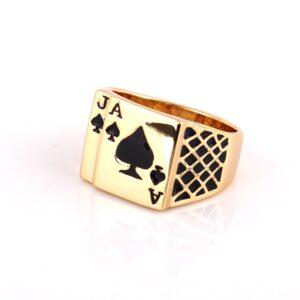 טבעת מעוצבת לגבר דגם 294