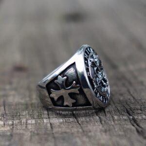 טבעת מעוצבת לגבר דגם 307