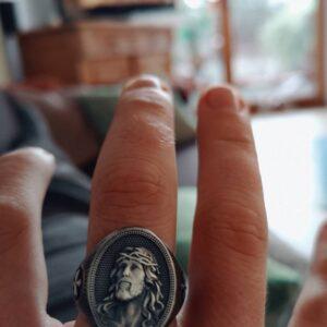 טבעת מעוצבת לגבר דגם 290