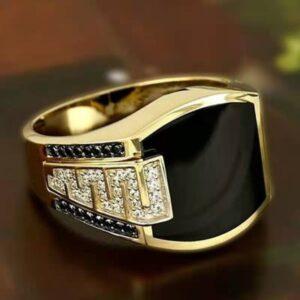 טבעת מעוצבת לגבר דגם 532