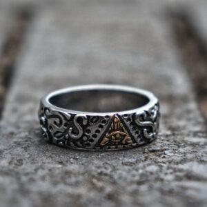 טבעת מעוצבת לגבר דגם 297