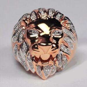 טבעת מעוצבת לגבר דגם 448