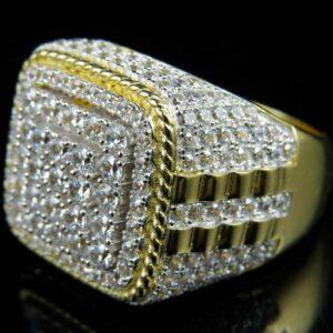 טבעת מעוצבת לגבר דגם 298