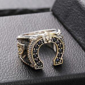 טבעת מעוצבת לגבר דגם 335