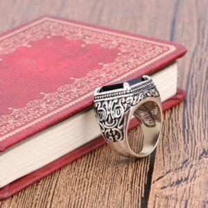 טבעת מעוצבת לגבר דגם 311