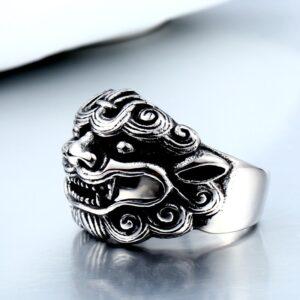 טבעת מעוצבת לגבר דגם 302