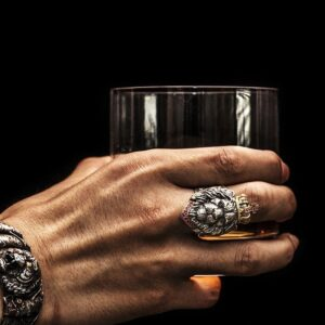 טבעת מעוצבת לגבר דגם 300