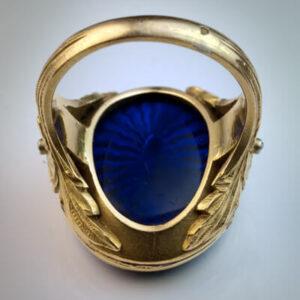 טבעת מעוצבת לגבר דגם 303