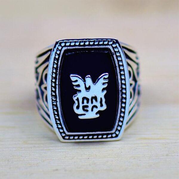 טבעת מעוצבת לגבר דגם 382