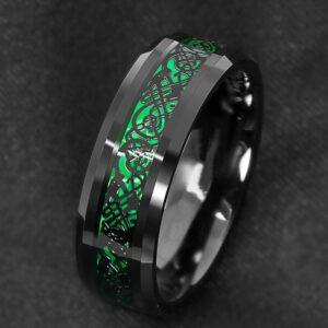 טבעת מעוצבת לגבר דגם 306