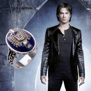 טבעת מעוצבת לגבר דגם 456