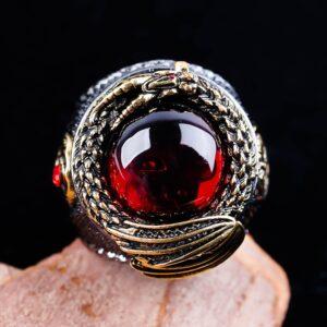 טבעת מעוצבת לגבר דגם 533