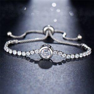צמיד טניס יהלומים לאישה דגם 905