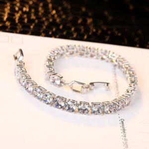 צמיד טניס יהלומים לאישה דגם 918