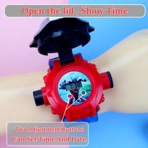 שעון יד לילדים בנים בנות דגם 8073