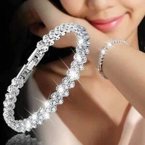 צמיד טניס יהלומים לאישה דגם 913
