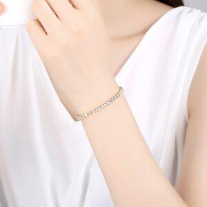 צמיד טניס יהלומים לאישה דגם 919
