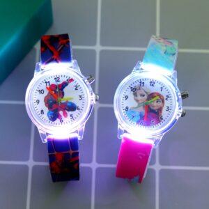שעון יד לילדים בנים בנות דגם 8072
