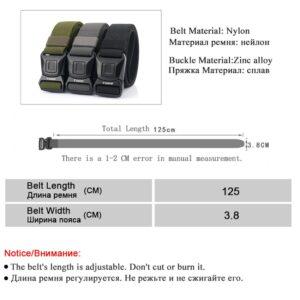 חגורה מבד לחיילים דגם 282