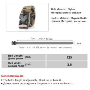 חגורה מבד לחיילים דגם 248